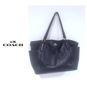 Coach Large Pebble Leather Handbag